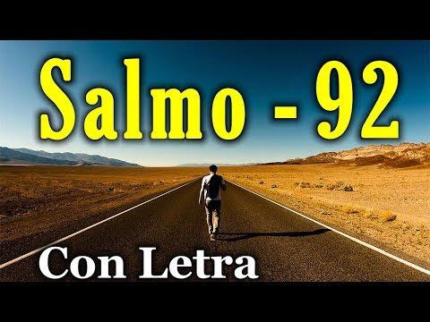 Salmo 92 - Alabanza por la bondad de Dios (Con Letra) HD.