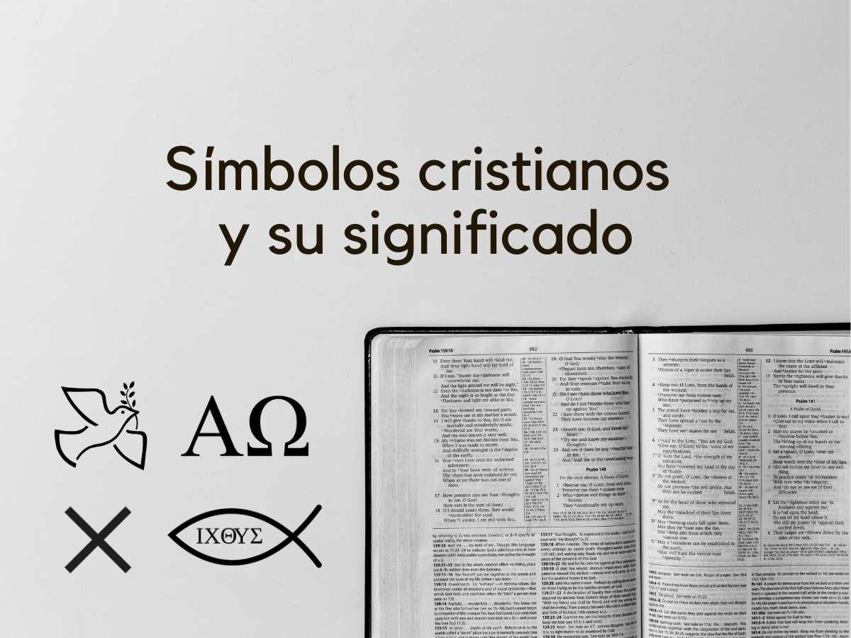 Símbolos Cristianos Y Su Significado Biblia Católica