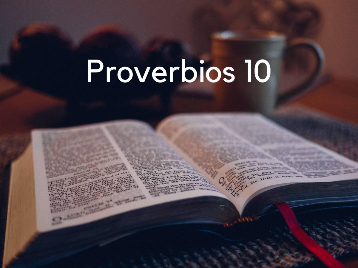 Proverbios 10 de la Biblia Católica