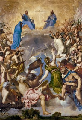 La_Gloria Tiziano cielo cristiano