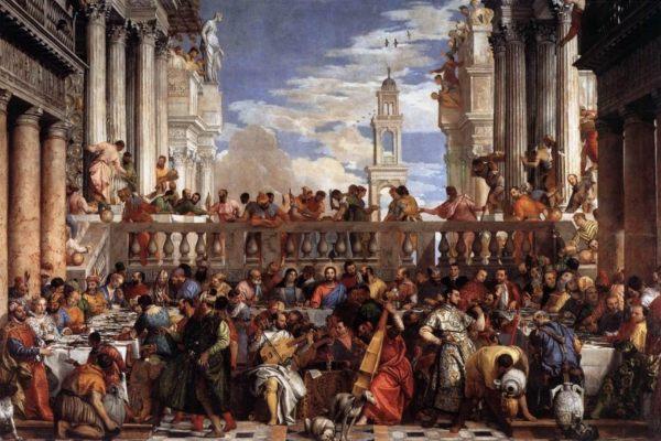 Las bodas de Caná - Paolo Veronese