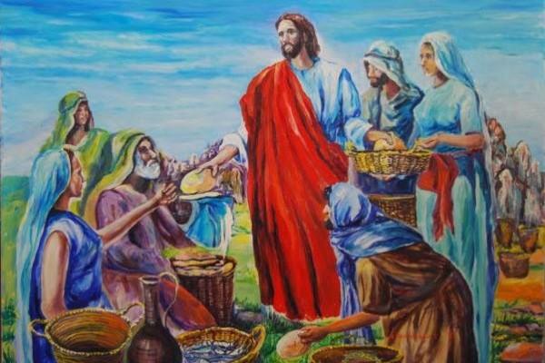 milagro jesus panes y peces